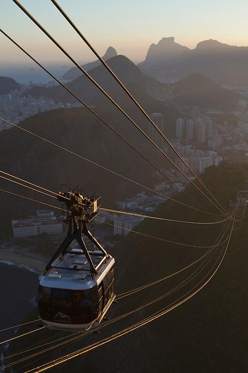 Pao de Azucar, Rio de Janeiro, Brazil.