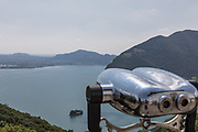 ITALY, Franciacorta area, Iseo Lake,  Monteisola, Convento Annunciata, view from the top of the Island