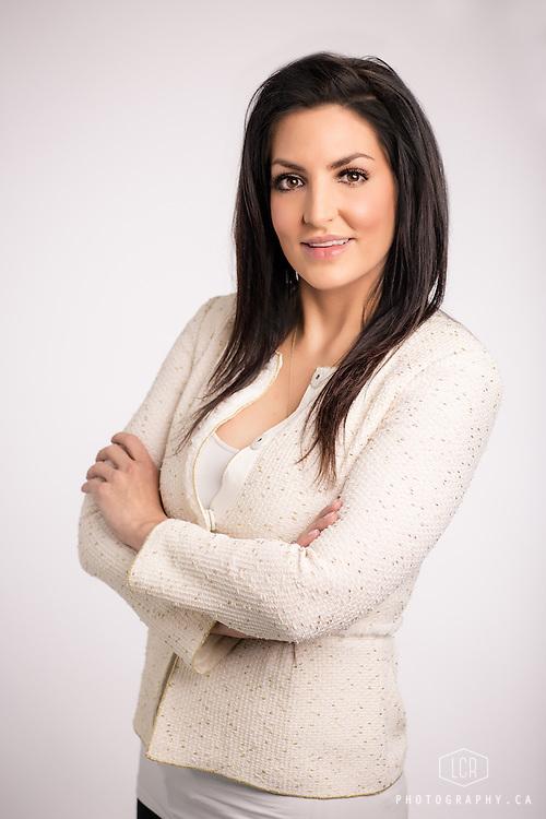 LCR Photography, Calgary corporate headshot of Natasha P.