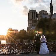 France. Paris. bateau mouche on the seine river Paris / bateau mouche sur la seine