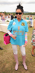 Asprey World Class Cup polo held at Hurtwood Park Polo Club, Ewhurst, Surrey on 17th July 2010.<br /> Picture shows:- KATIE PRICE
