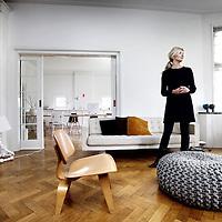 Nederland, Amsterdam , 27 februari 2013.<br /> Het huis van de architect.<br /> Op de foto een deel van het interieur van binnenhuisontwerpster Marina van Goor.<br /> Foto:Jean-Pierre Jans