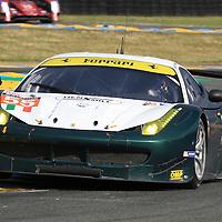 #55, Ferrari 458 Italia, AF Corse, driven by Duncan Cameron, Aaron Scott, Matt Griffin, 24 Heures Du Mans , 15/06/2016,