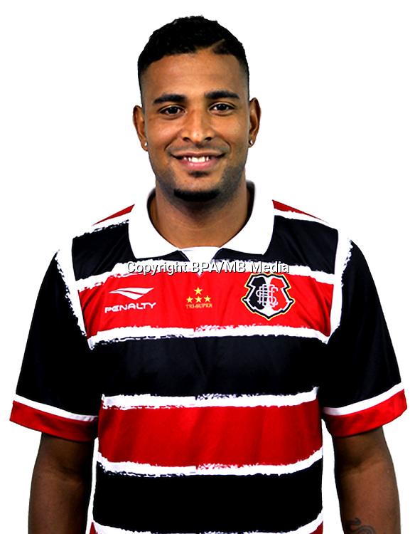 Brazilian Football League Serie A / <br /> ( Santa Cruz Futebol Clube ) - <br /> Allan Vieira Reis &quot; Allan Vieira &quot;
