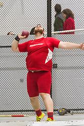 Boston University Multi-team indoor track & field, men shot put, Sacred Heart