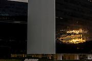 Belo Horizonte_MG, Brasil.<br /> <br /> Centro Administrativo do Governo de Minas Gerais (Cidade Administrativa), o centro foi projetado por Oscar Niemeyer.<br /> <br /> The Minas Gerais Administrative Center (Administrative City), projected by Oscar Niemeyer.<br /> <br /> Foto: LEO RUMOND / NITRO