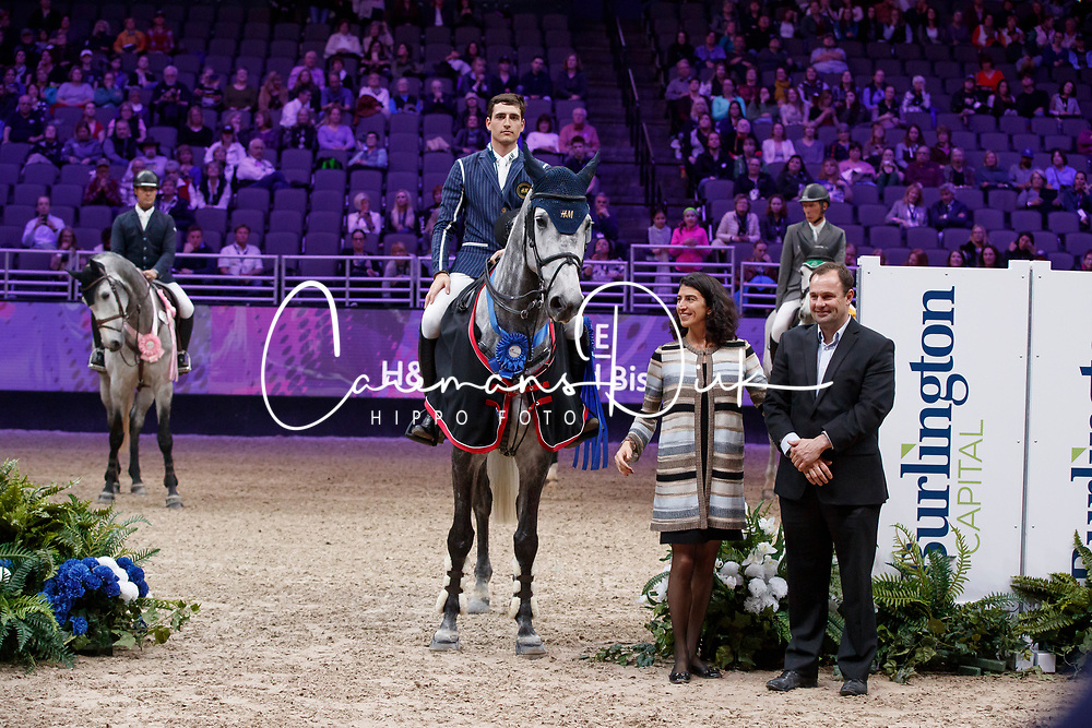 Philippaerts Nicola, BEL, Harley van den Bisschop<br /> The International Omaha Jumping Grand Prix 2017 <br /> © Hippo Foto - Dirk Caremans<br /> 02/04/2017