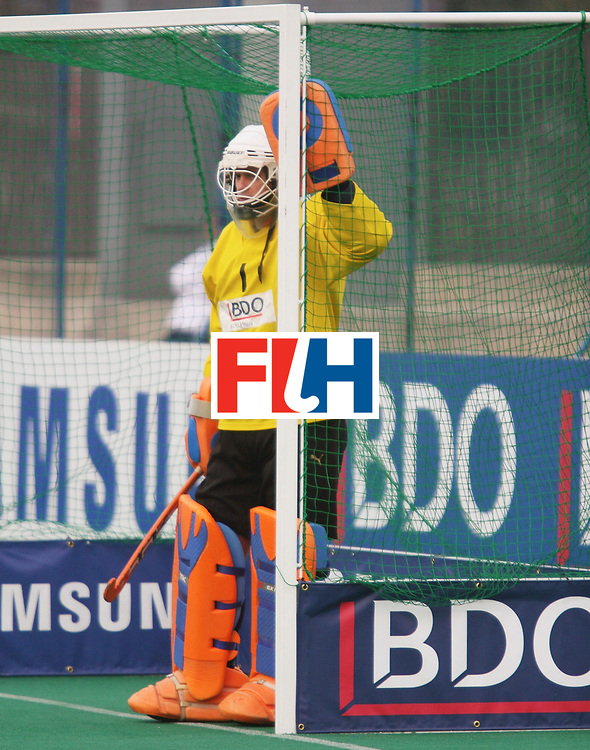 Kakamigahara,Gifu-Japan : Egloff Patrick, Goal keeper of Switzerland  in the Olympic Hockey Qualifier at Gifu Perfectural Green Stadium at Kakamigahara on 05 April 2008. Japan beat Switzerland 2-1.<br />  Photo: GNN/ Vino John