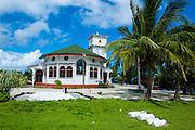 Little church in Tau Island, Manuas, American Samoa, South Pacific
