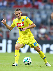 August 1, 2017 - Munich, Germany - Marko Rog of Napoli during the first Audi Cup football match between Atletico Madrid and SSC Napoli in the stadium in Munich, southern Germany, on August 1, 2017. (Credit Image: © Matteo Ciambelli/NurPhoto via ZUMA Press)