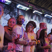 The video the Power of IF was filmed in a tunnel by Waterloo and was filmed and produced by Armoury London. More than a hundred 16 - 25 yr olds joined a creative paint-fuelled event to express their support for the Enough Food IF campaign. While making the video was a fun and colourful process, the message remains a serious one: global hunger is outrageous and unacceptable.