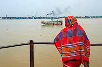 Inde, Bengale Occidental, Calcutta (Kolkata), riviere Hooghly // India, West Bengal, Kolkata, Calcutta, Hooghly River