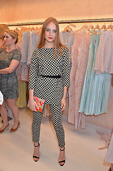 PETRA PALUMBO at a party to celebrate the re-launch of the Ghost Flagship store at 120 King's Road, London on 15th April 2015.