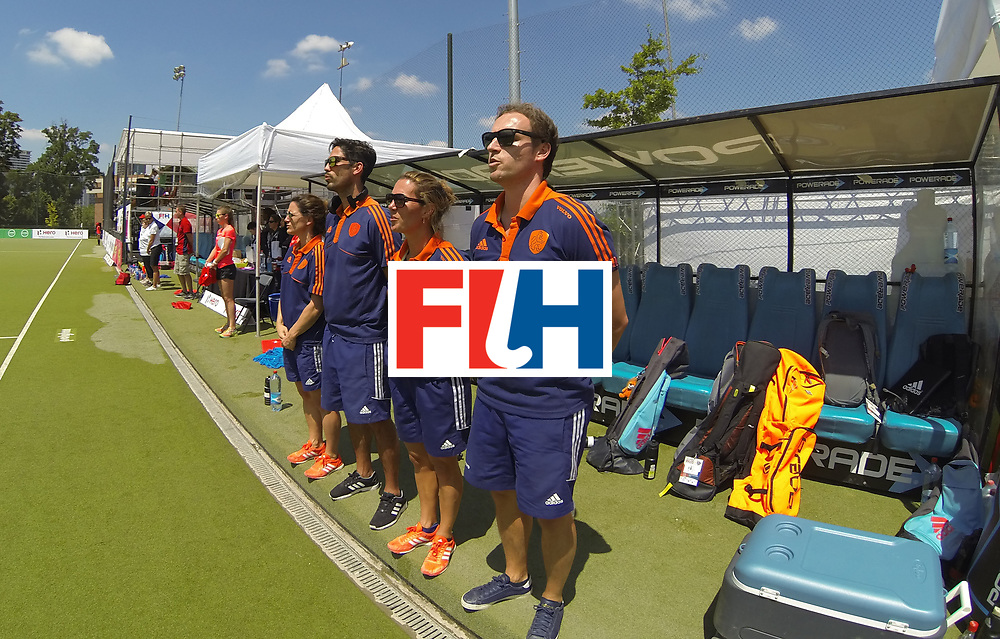 SANTIAGO - 2016 8th Women's Hockey Junior World Cup<br /> 17 NED v ZIM (Pool A)<br /> foto: Rick Matthijssen.<br /> FFU PRESS AGENCY COPYRIGHT FRANK UIJLENBROEK