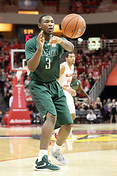 05 December 2015: Chris Cokley. Illinois State Redbirds host the University of Alabama - Birmingham Blazers at Redbird Arena in Normal Illinois (Photo by Alan Look)