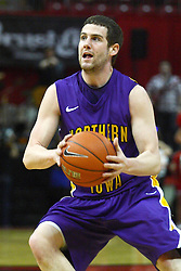 29 December 2011:  Johnny Moran during an NCAA mens basketball game between the Northern Illinois Panthers and the Illinois State Redbirds in Redbird Arena, Normal IL