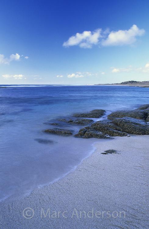 A peaceful beach, Pondalowie Beach, South Australia.