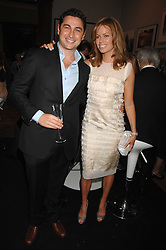 CEM & CAROLINE HABIB at the Royal Academy of Arts Summer Exhibition Party at the Royal Academy, Piccadilly, London on 6th June 2007.<br />