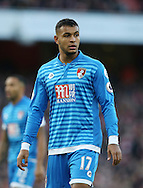 Bournemouth's Joshua King in action during the Premier League match at the Emirates Stadium, London. Picture date October 26th, 2016 Pic David Klein/Sportimage