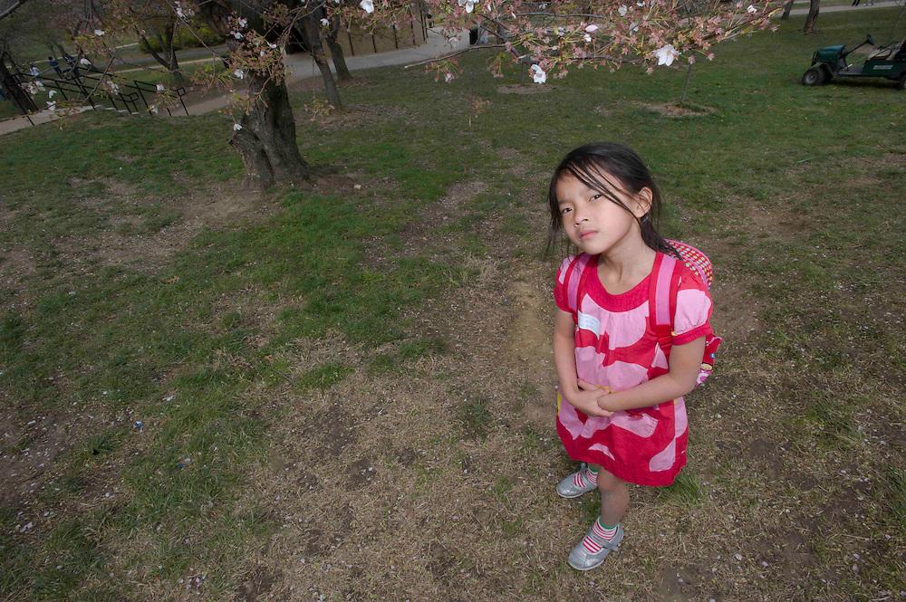 WASHINGTON (2010-2011) -- River School Kids, Heron's tour Cheery Blossoms.  Photo by Johnny Bivera