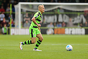 Forest Green Rovers Marcus Kelly (10) on the ball during the Vanarama National League match between Forest Green Rovers and Bromley FC at the New Lawn, Forest Green, United Kingdom on 17 September 2016. Photo by Shane Healey.