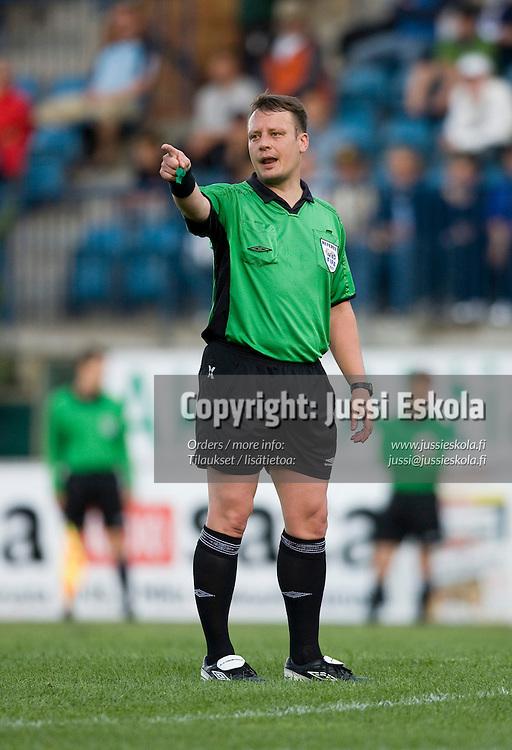 Mikko Vuorela. 200. liigaottelu. Inter - HJK. Veikkausliiga. Turku 28.6.2007. Photo: Jussi Eskola
