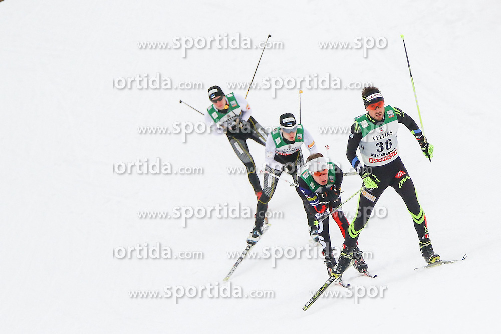 30.01.2015, Langlaufzentrum, Lago di Tesero, ITA, FIS Weltcup Nordische Kombination, Val di Fiemme, Langlauf, im Bild Francois Braud (FRA) // during Cross Country of the FIS Nordic Combined World Cup Val di Fiemme at the Langlaufzentrum in Lago di Tesero, Italy on 2015/01/30. EXPA Pictures © 2015, PhotoCredit: EXPA/ Alice Russolo