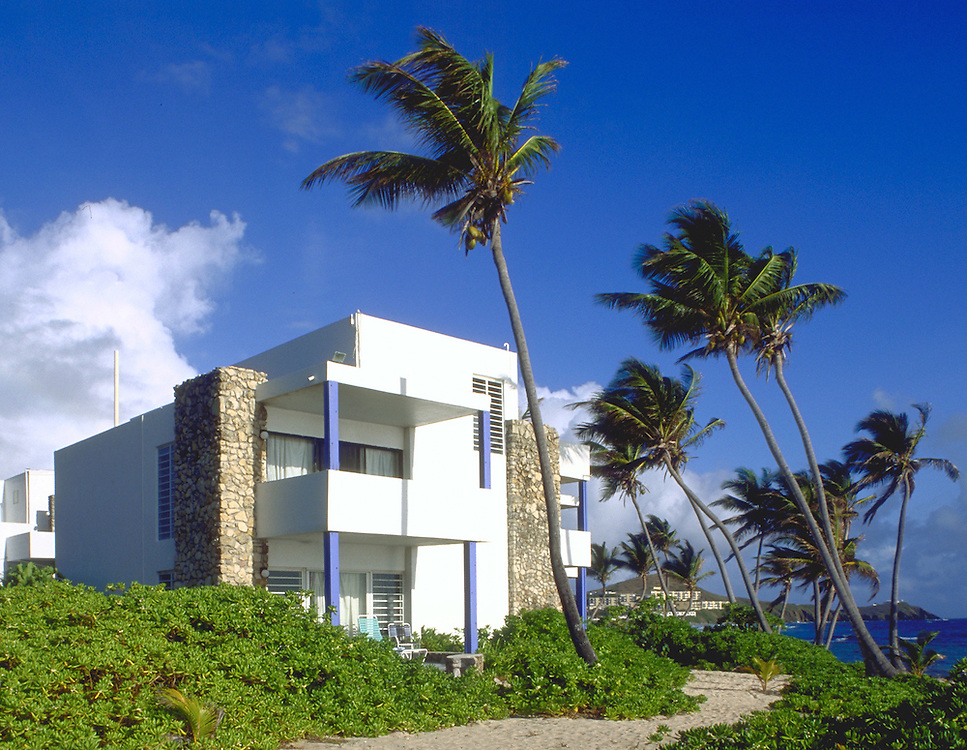 Exterior view at the Cormorant Beach Club. St. Croix