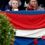 NLD/Amsterdam/20200126 - Jumping Amsterdam 2020, Prinses Beatrix en Prinses Margarita de Bourbon de Parme