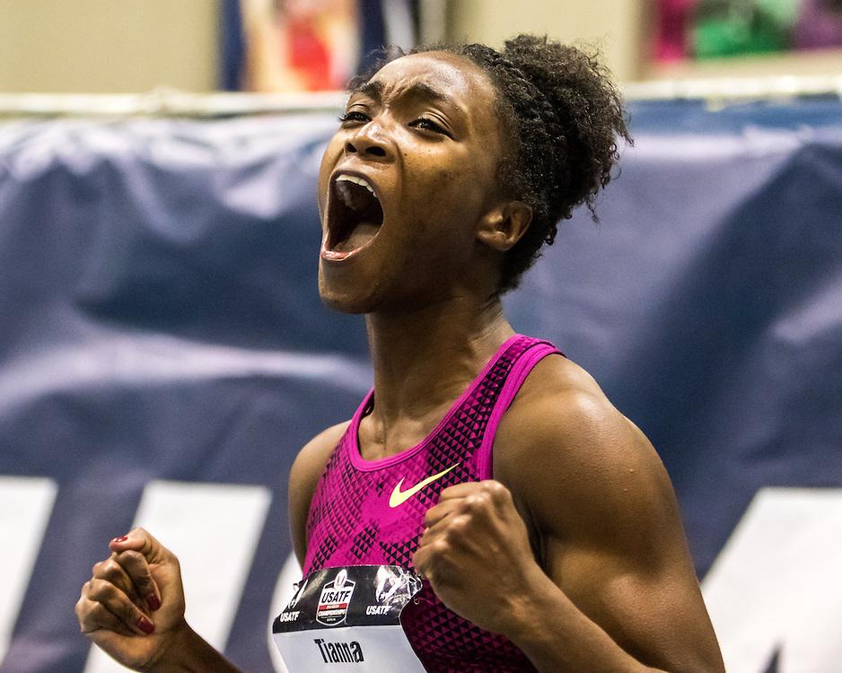 USATF Indoor Track & Field Championships: womens 60, Tianna Bartoletta