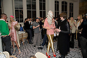 GILES DEACON; AGYNESS DEYN; JOHNNY WOO; GARETH PUGH. Kate Grand hosts a Love Tea and Treasure hunt at Flash. Royal Academy. Burlington Gardens. London. 10 december 2008 *** Local Caption *** -DO NOT ARCHIVE-© Copyright Photograph by Dafydd Jones. 248 Clapham Rd. London SW9 0PZ. Tel 0207 820 0771. www.dafjones.com.<br /> GILES DEACON; AGYNESS DEYN; JOHNNY WOO; GARETH PUGH. Kate Grand hosts a Love Tea and Treasure hunt at Flash. Royal Academy. Burlington Gardens. London. 10 december 2008