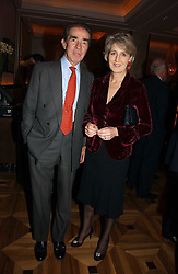 The EARL & COUNTESS ALEXANDER OF TUNIS at a party to celebrate the publication of 'Dancing into Waterloo' by Nick Foulkes held at The Westbury Hotel, Conduit Street, London on 14th December 2006.<br /><br />NON EXCLUSIVE - WORLD RIGHTS