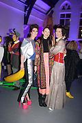 VALERIA NAPOLEONE; ROKSANDA ILINCIC; STEFANIA PRAMMA; ,   Pop party. the birthday celebration of twin sisters Valeria Napoleone and Stefania Pramma. Studio Voltaire, London SW4. 17 May 2013.