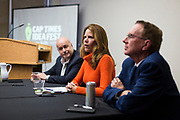 State Rep. Chris Taylor speaks during the Cap Times Idea Fest 2018 at the Pyle Center in Madison, Wisconsin, Saturday, Sept. 29, 2018.
