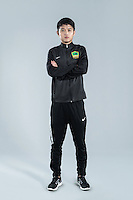 Portrait of Chinese soccer player Zhang Zhi of Guizhou Hengfeng Zhicheng F.C. for the 2017 Chinese Football Association Super League, in Guiyang city, southwest China's Guizhou province, 23 February 2017.