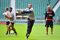 Bryan HABANA - 01.05.2015 - Captains' Run de Toulon avant la finale - European Rugby Champions Cup -Twickenham -Londres<br /> Photo : David Winter / Icon Sport