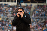 January 3, 2016: Carolina Panthers vs Tampa Bay Buccaneers. Panthers Head Coach Ron Rivera