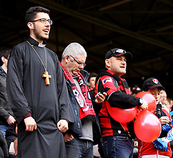 AFC Bournemouth fans - Photo mandatory by-line: Robbie Stephenson/JMP - Mobile: 07966 386802 - 02/05/2015 - SPORT - Football - Charlton - The Valley - Charlton v AFC Bournemouth - Sky Bet Championsip