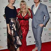 Stephanie Staunton and guests Arrivers at the Nailing Mental Health: Valentine's Ball The Hurlingham Club, Ranelagh Gardens on 14 Feb 2018, London, United Kingdom