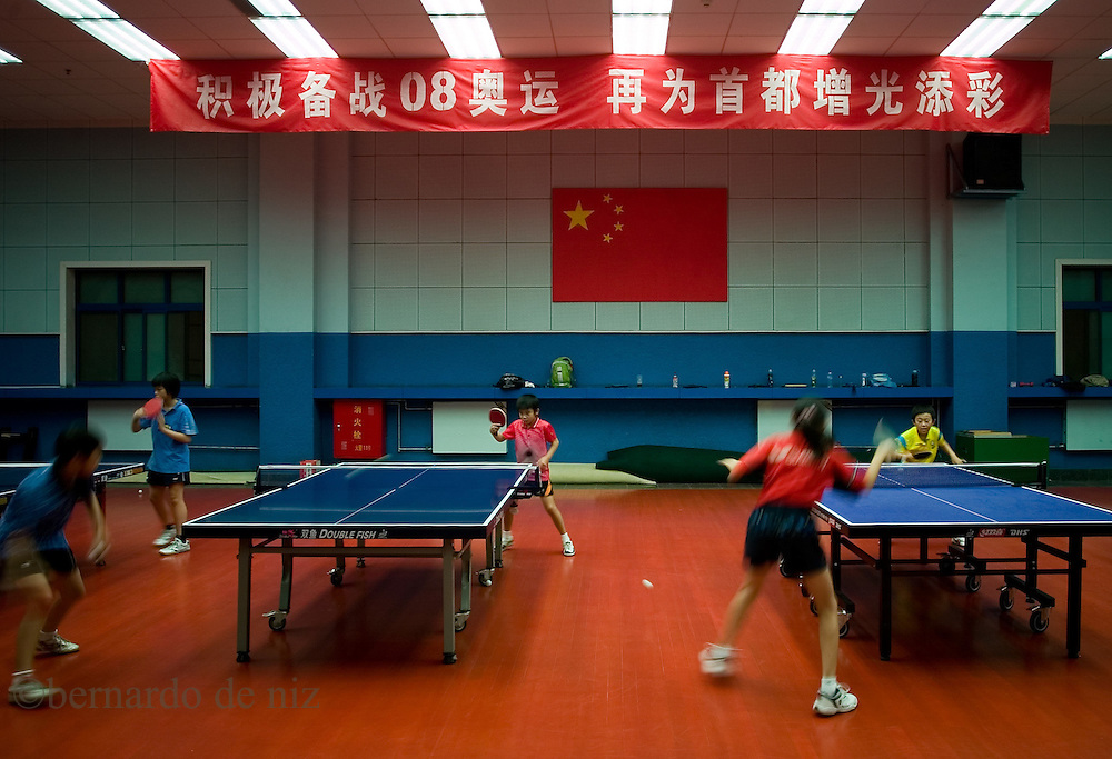 Established in 1958, Beijing Shichahai Sports School is located in the west bank of Shichahai, also one of the main center for training young sports talents in Beijing, and rated as a key secondary technical school with a primary and junior section, base of national high level athletic talents, training center of national high level badminton talents. We provide sports training as Wushu, Ping-Pong, Badminton, Weightlifting, Gymnastics, Volleyball, Tennis, Boxing, Free Combat, and Taekwondo.Photos: Bernardo De Niz