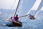 Shona sailing in the Robert H. Tiedemann Classic Yachting Weekend race 1.