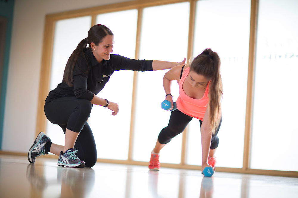 07/05/15 Brighouse - Your Personal Trainer shoot at Brighouse Fitness Centre