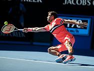 GRIGOR DIMITROV (BUL)<br /> <br /> Tennis - Australian Open 2018 - Grand Slam / ATP / WTA -  Melbourne  Park - Melbourne - Victoria - Australia  - 23 January 2018.
