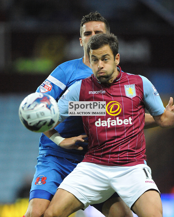 Aston Villa v Leyton Orient, Capital One Cup,  Villa Park,Wednesday 27th August 2014