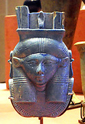 head of the goddess Hathor