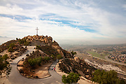 A View of Riverside from Mt Rubidoux Summit