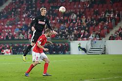 26.02.2013, Coface Arena, Mainz, GER, 1. FBL, 1. FSV Mainz 05 vs SC Freiburg, DFB Cup, Viertelfinale, im Bild Jan ROSENTHAL (SC Freiburg - 8) - Bo SVENSSON (FSV Mainz 05 - 2) // during the German Bundesliga DFB Cup quarterfinals match between 1. FSV Mainz 05 and SC Freiburg at the Coface Arena, Mainz, Germany on 2013/02/26. EXPA Pictures © 2013, PhotoCredit: EXPA/ Eibner/ Gerry Schmit..***** ATTENTION - OUT OF GER *****