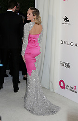 Miley Cyrus arriving at the Elton John Oscar Party held in Beverly Hills, Los Angeles, USA.