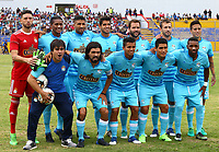 Football - Peruvian League Descentralizado - <br /> Movistar Trophy 2016 - Abertura Tournament / <br /> Club Sporting Cristal - Team Group