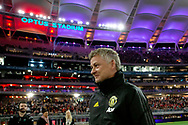 PERTH, AUSTRALIA - JULY 13: Manchester United coach Ole Gunnar Solskjaer during the International soccer match between Manchester United and Perth Glory on July 13, 2019 at Optus Stadium in Perth, Australia. (Photo by Speed Media/Icon Sportswire)